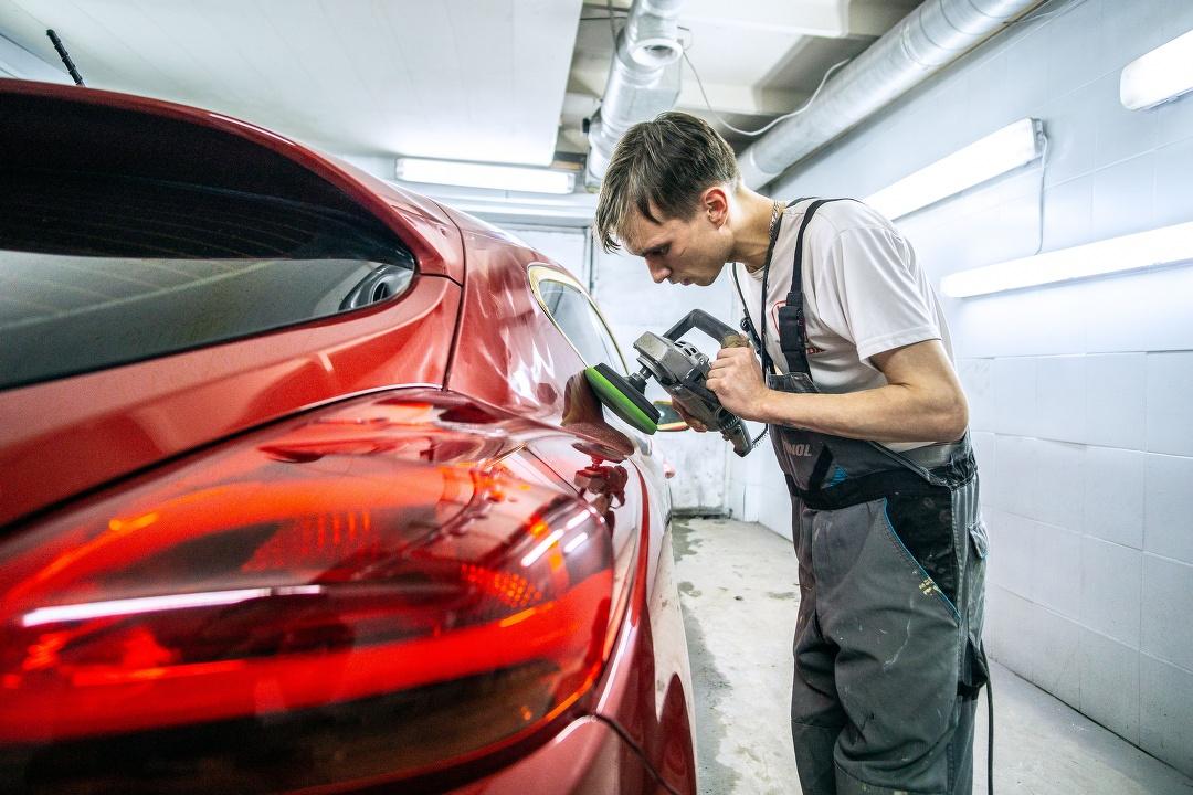ремонт автомобиля, сервис