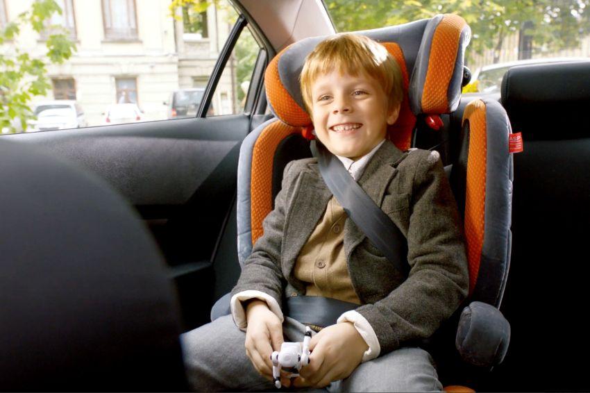 Штраф за неправильную перевозку ребёнка в автомобиле