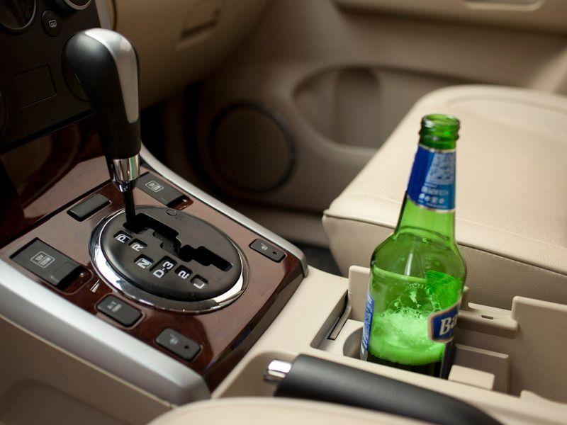 Алкоголь и водитель за рулем