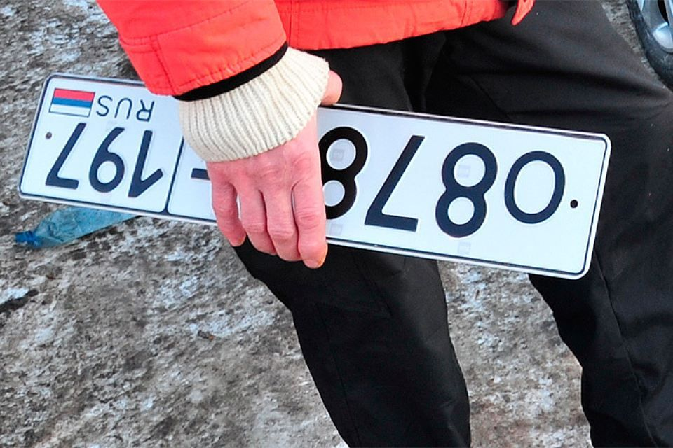 Штраф за управление незарегистрированным автомобилем