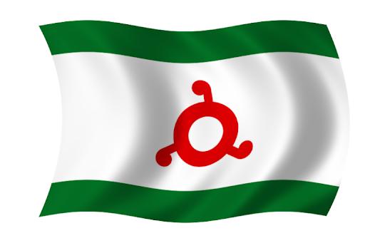 флаг региона 06 Республика Ингушетия