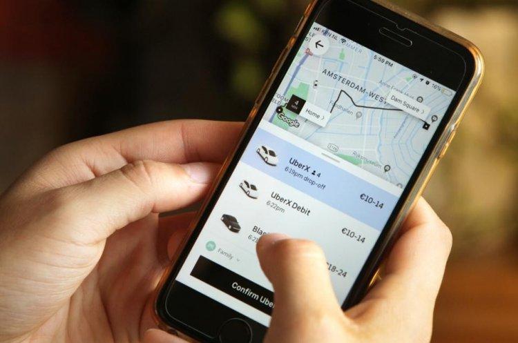 мобильное приложение Uber