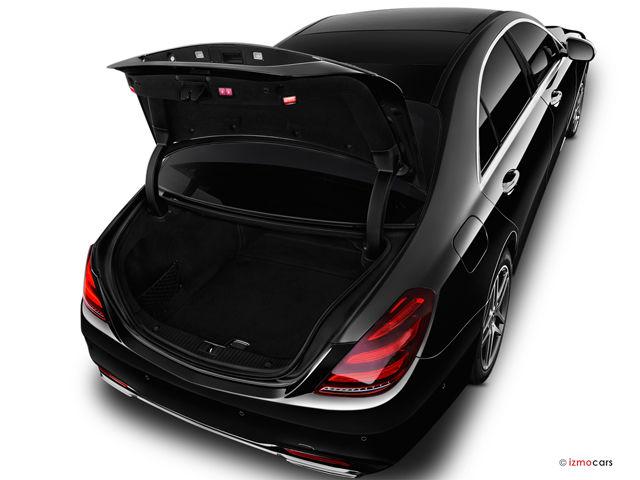 Грузовое пространство, багажник Mercedes-Benz S-Class 2020-2021