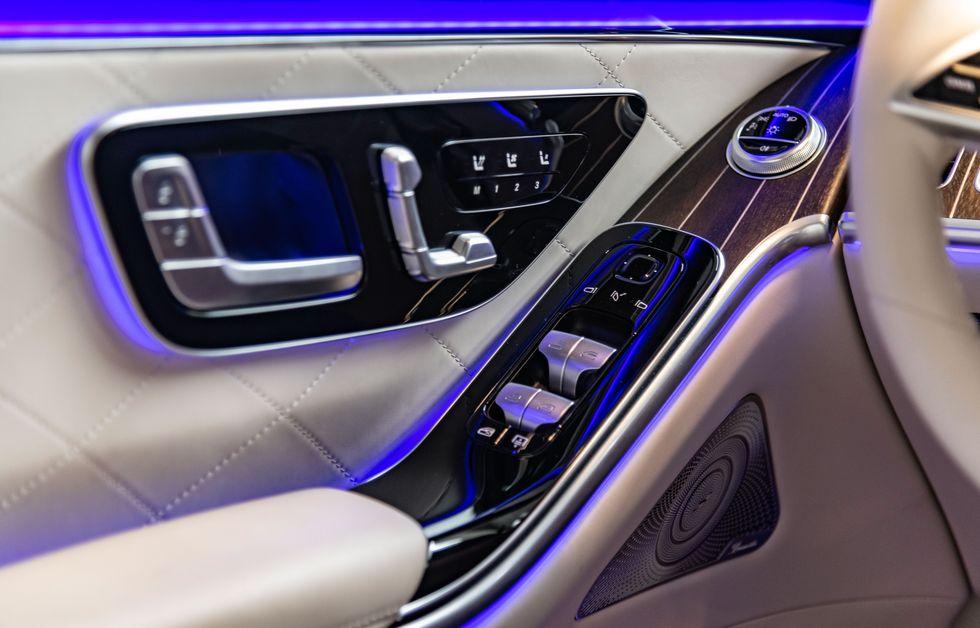 Mercedes-Benz S-Класс 2020-2021 Интерьер, фото