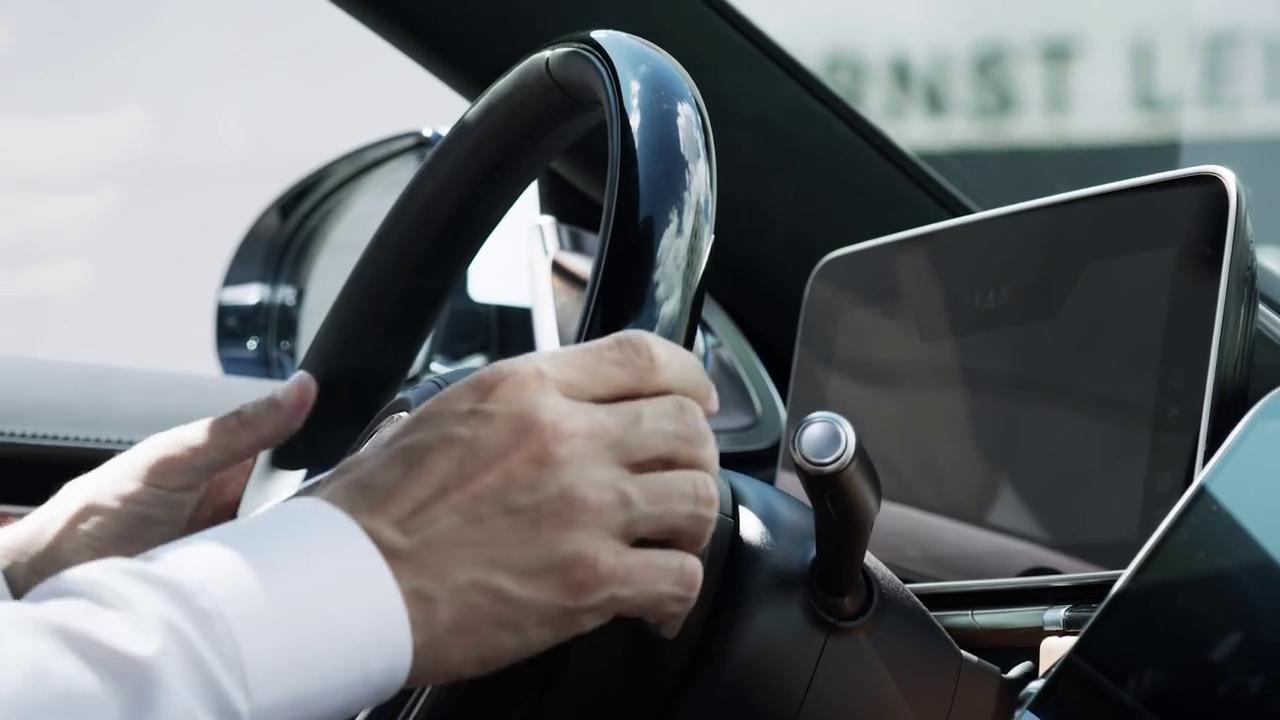 Информационно-развлекательная система Mercedes-Benz S-Class 2020-2021, Bluetooth и навигация, фото