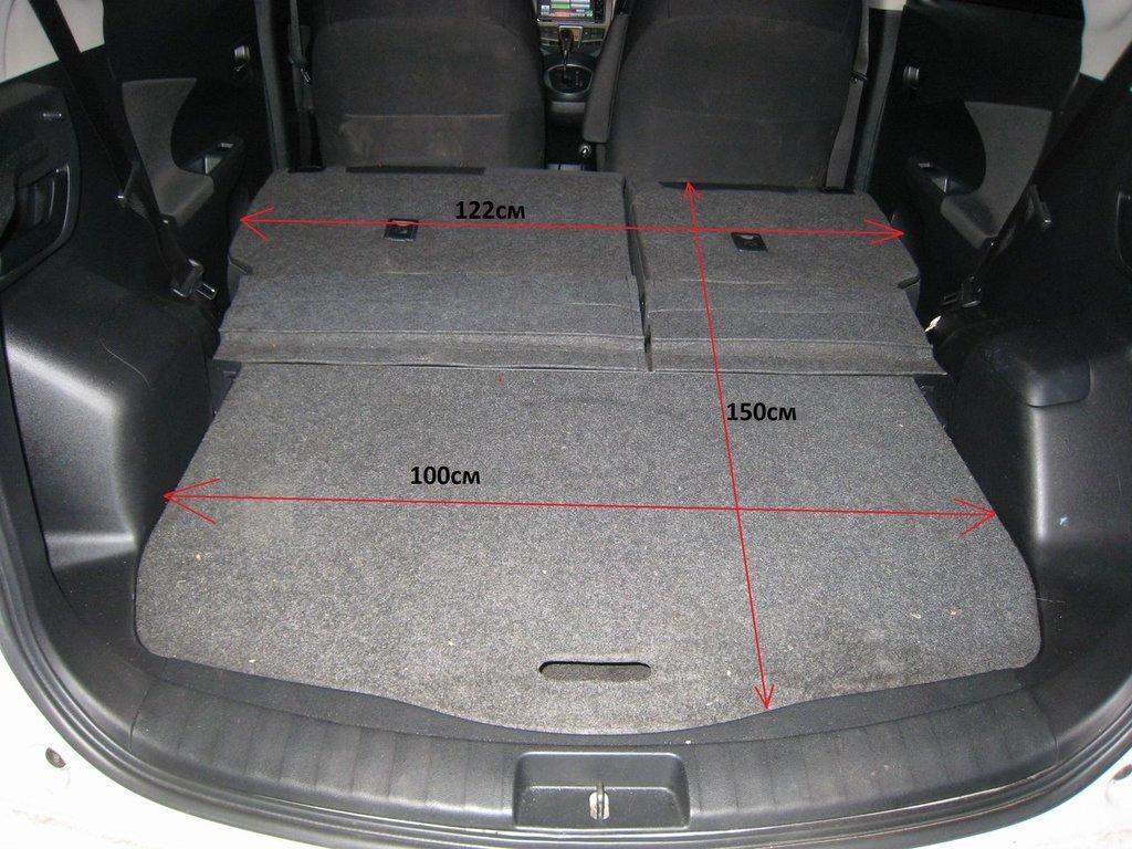 Багажник Toyota Verso фото 2021