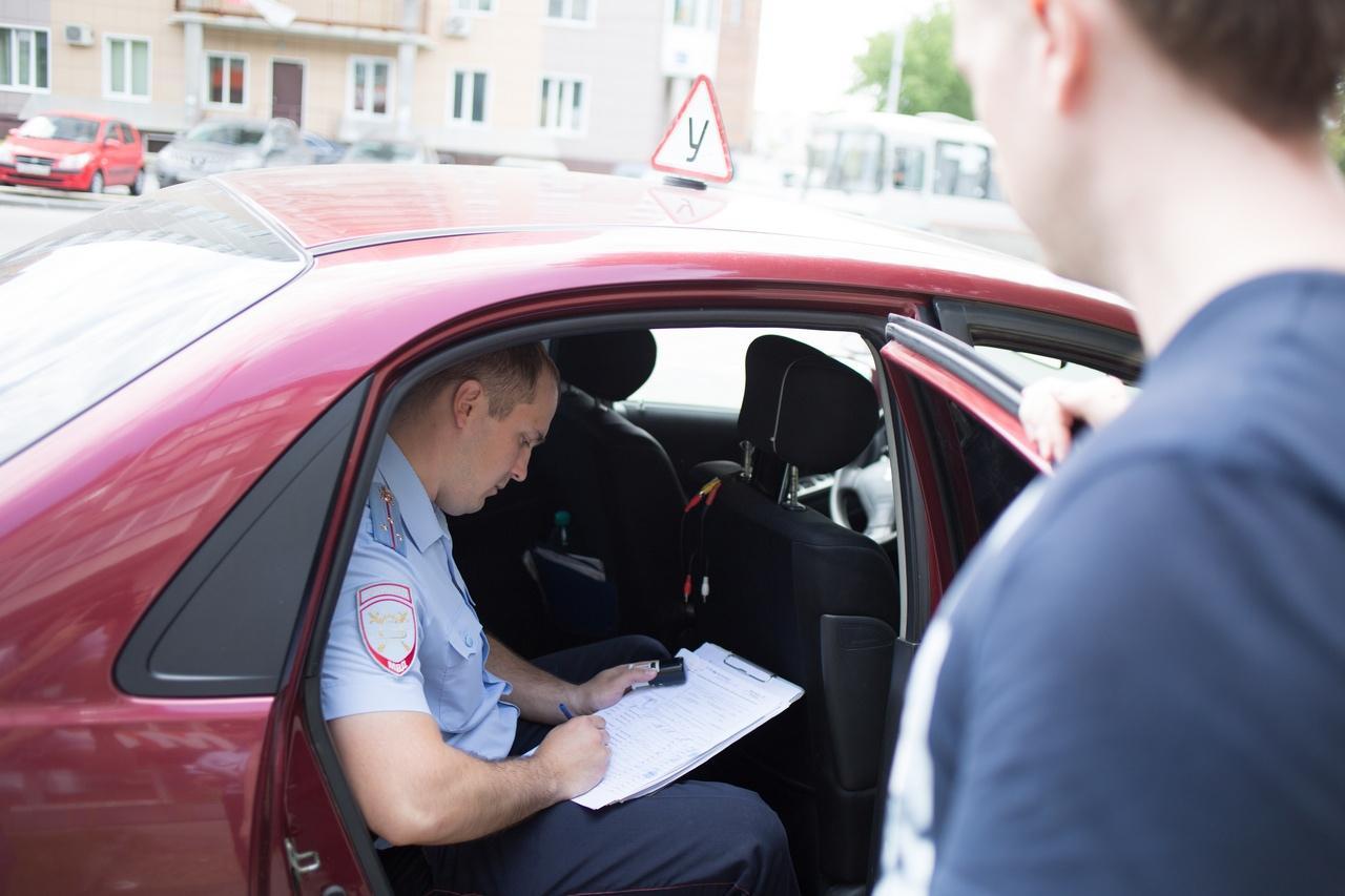 Новые штрафы на экзамене по вождению в 2021г