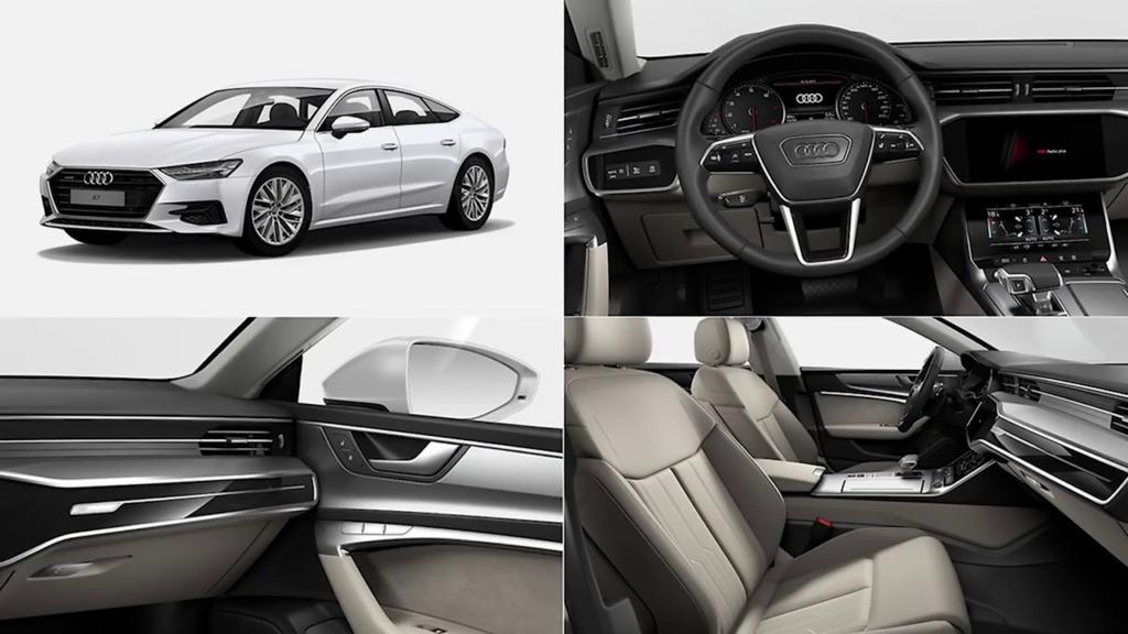 дизайн исполнении Audi A7 Sportback 2021 фото