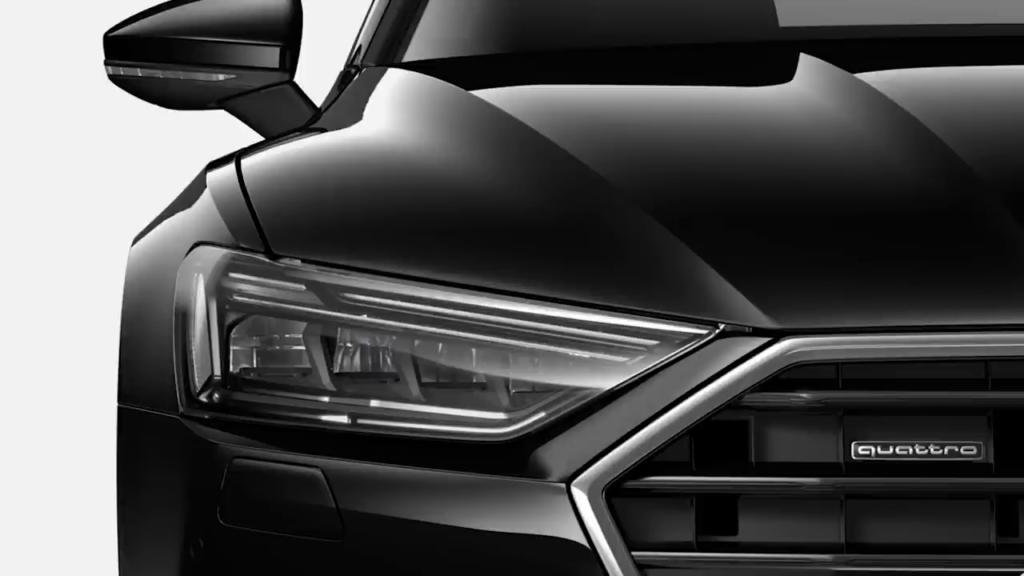 передние светодиодные фары Audi A7 Sportback