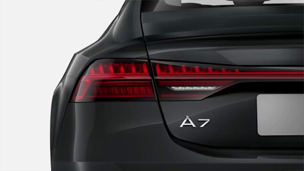задние светодиодные фонари Audi A7 Sportback