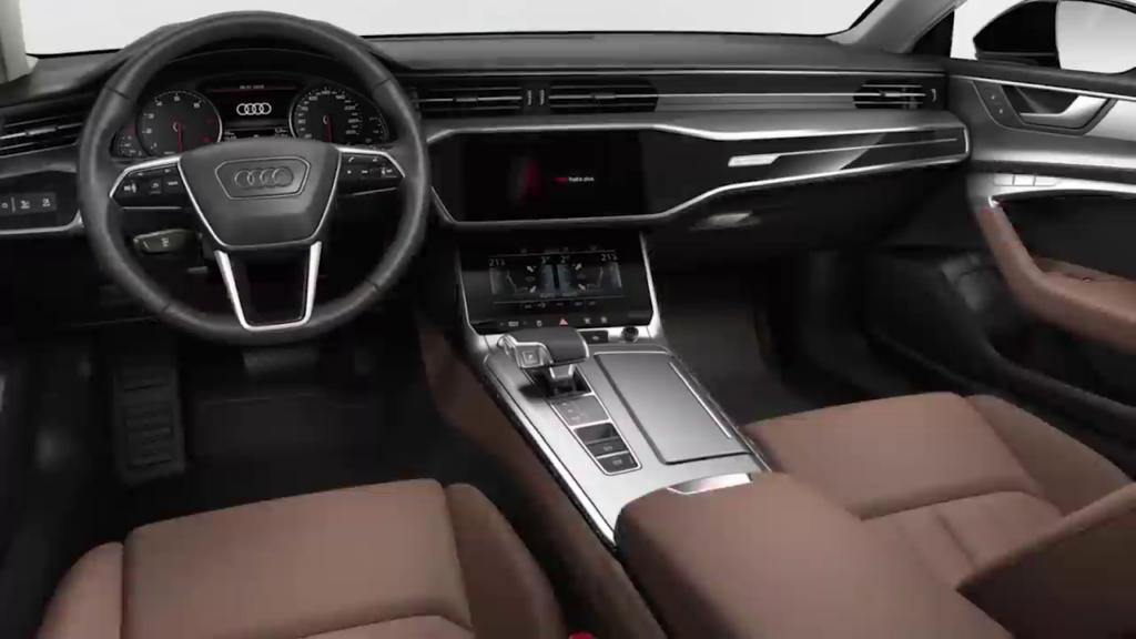 отделка салона Audi A7