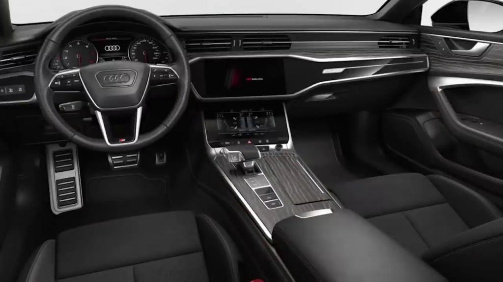 отделка 1 салона Audi A7