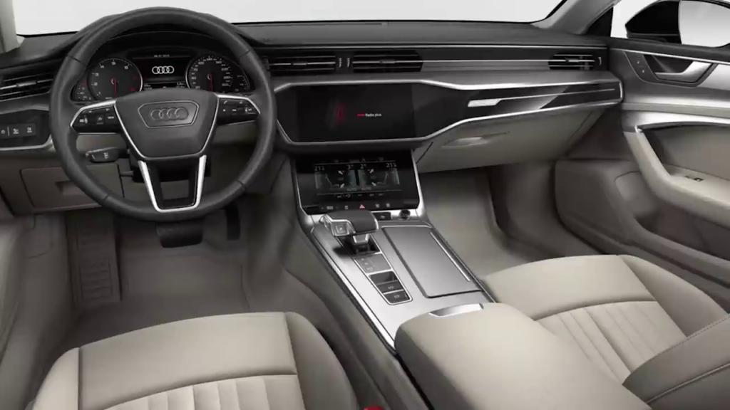 отделка2 салона Audi A7