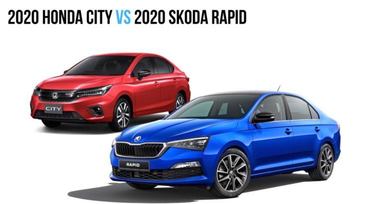 2020 Skoda Rapid против Honda City 2020